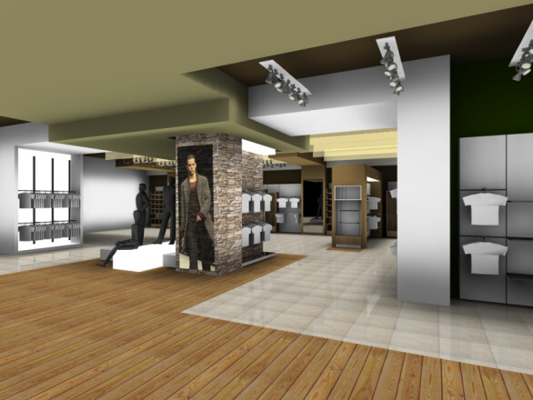idee arredamento negozio abbigliamento: arredo negozi ... - Arredamento Moderno Negozio Abbigliamento