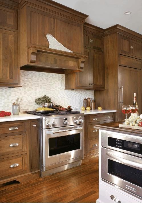 Cucine in noce artigianali - Cucine artigianali in legno ...