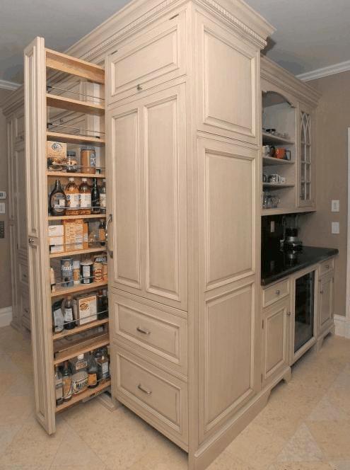 Cucine artigianali in legno spazzolato - Cucine classiche artigianali ...