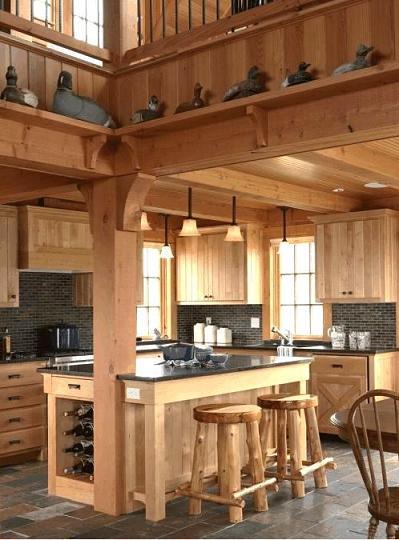 Cucine artigianali per casa montagna - Cucine di montagna arredamento ...