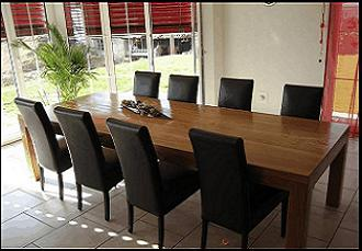 tavoli in legno massello - Tavoli Soggiorno Legno