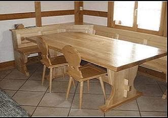 Tavoli in legno massello - Tavoli rustici in legno ...